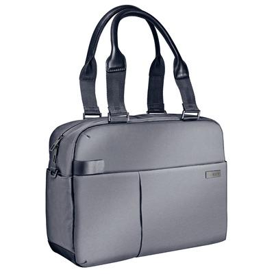 "Leitz Complete 13,3"" Smart Laptop Shopper, 750 g, Zilver Laptoptas - Zwart, Zilver"