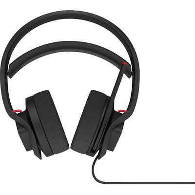 Hp headset: Omen X - Zwart, Rood