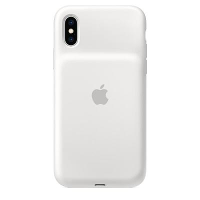 Apple mobile phone case: Smart Battery Case voor iPhone XS - Wit
