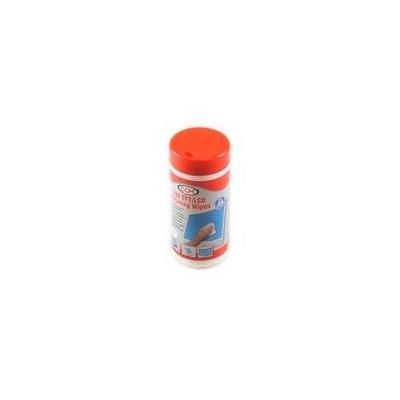 Microspareparts schoonmaakdoek: Screen Cleaning Wipes, 100 wet, 125x160mm