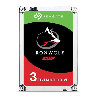 """Seagate IronWolf 3TB 5900rpm 3,5"""" SATA Interne harde schijf"""