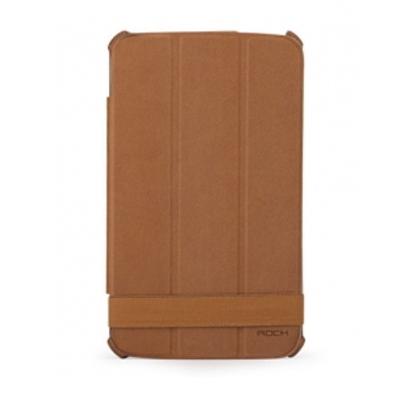 ROCK Texture Tablet case - Bruin