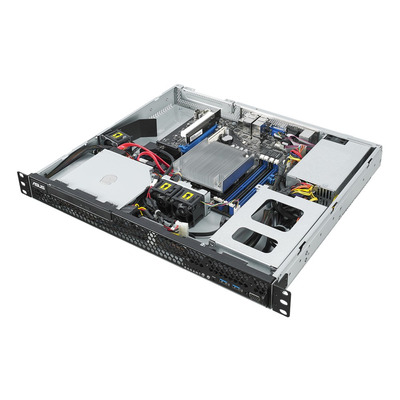 ASUS RS100-E10-PI2 Server barebone - Zwart,Metallic