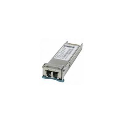 Cisco netwerk tranceiver module: 10GBASE-DWDM 1544.53 nm XFP (100-GHz ITU grid) transceiver module - Grijs