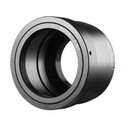 Kipon lens adapter: T2 Adapter for Nikon 1, Black - Zwart