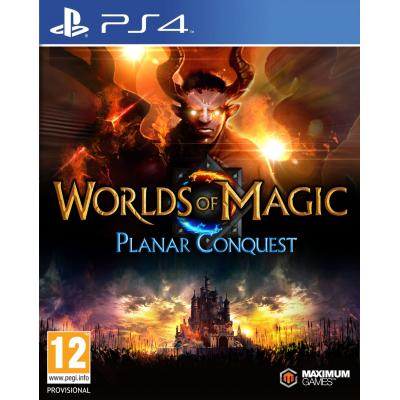505 games game: Worlds of Magic: Planar Conquest  PS4