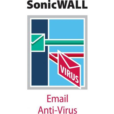 Dell software licentie: SonicWALL Comprehensive Anti-Spam Service for TZ 205 1 Years
