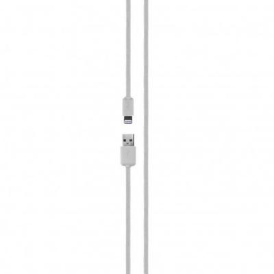 Xqisit Charge & Sync Lightning to USB, White - Wit