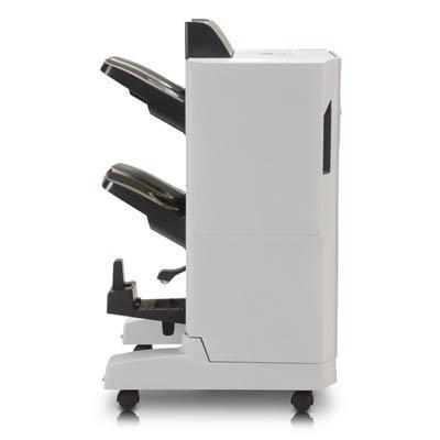 Hp uitvoerstapelaar: Color LaserJet CM6000 serie boekjesmaker