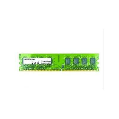 2-power RAM-geheugen: 2GB DDR2 800MHz DIMM - Groen