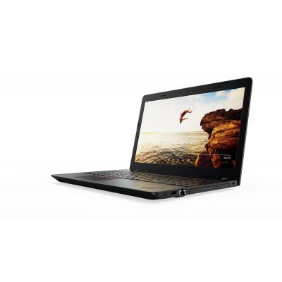 Lenovo laptop: ThinkPad E570 - Zwart