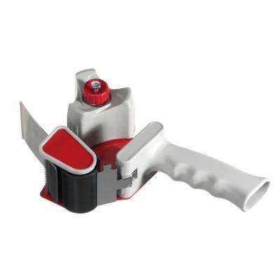 Herlitz Packing tape dispenser grey Tape afroller - Grijs, Rood