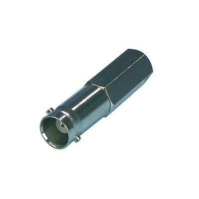 Valueline BNC Female, Metal, Silver Kabel connector - Zilver