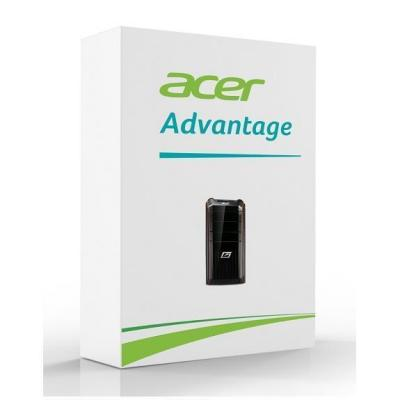 Acer garantie: Advantage warranty extension to 3 years pick up & delivery for Aspire Desktops + 1 year McAfee Internet .....