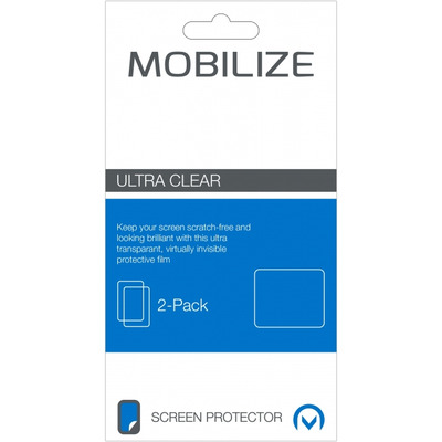 Mobilize Clear 2-pack Motorola Moto Z Play Screen protector - Transparant