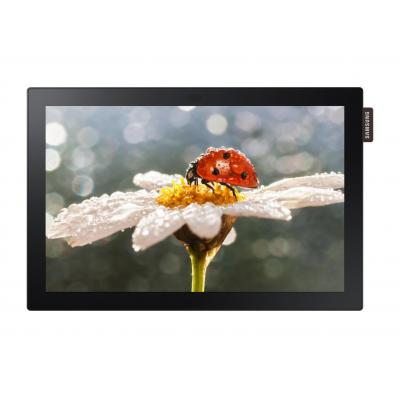 "Samsung public display: Interactive Display DBE-T Series 10"" - Zwart"