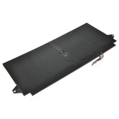 2-power batterij: Laptop, Lithium polymer, 7.4 V, 4680 mAh, 196 g, Rectangular - Zwart