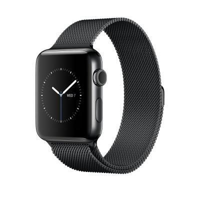 Apple smartwatch: Watch Series 2 Space Black Stainless Steel 38mm