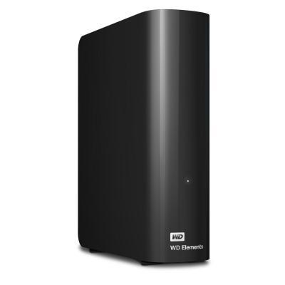 Western digital externe harde schijf: WD Elements, 2TB - Zwart