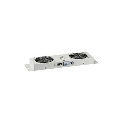 EFB Elektronik Fan Unit, 2-Fans for Wall Housings BASIC + IP55, RAL7035