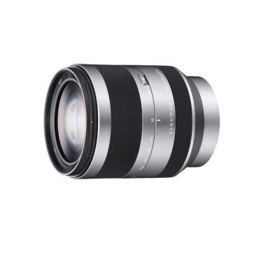 Sony camera lens: E 18-200 mm F3.5-6.3 telezoomlens. Alleen compatibel met camera's met E-bevestigingssysteem