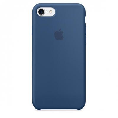 Apple mobile phone case: Siliconenhoesje voor iPhone 7 - Oceaanblauw