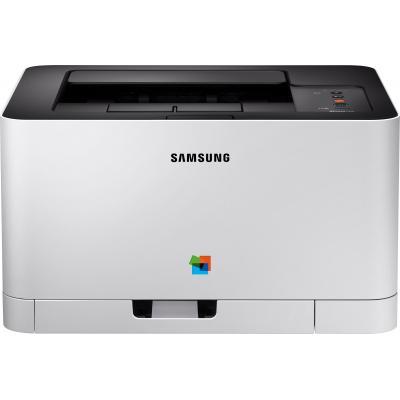 Hp laserprinter: Xpress SL-C430 - Zwart, Cyaan, Magenta, Geel
