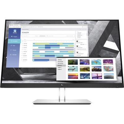 HP E27q G4 Monitor - Zwart,Zilver