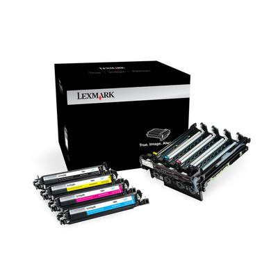 Lexmark 700Z5 40K zwarte en kleuren imaging kit Printerkit - Zwart, Cyaan, Magenta, Geel