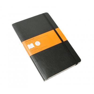 Moleskine schrijfblok: Ruled Soft Notebook - Large - Zwart