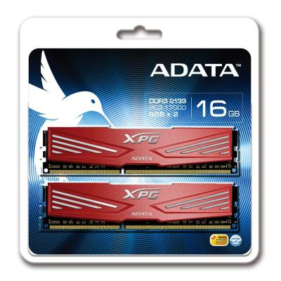 Adata RAM-geheugen: 16GB XPG V1.0 - Rood
