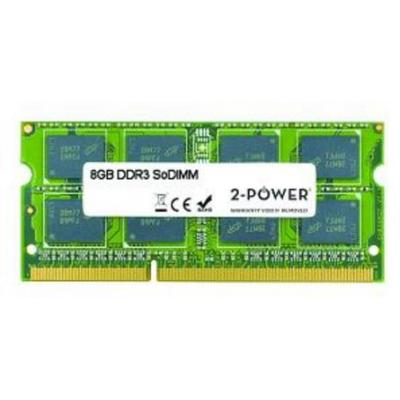 2-power RAM-geheugen: 8GB MultiSpeed SODIMM - Groen