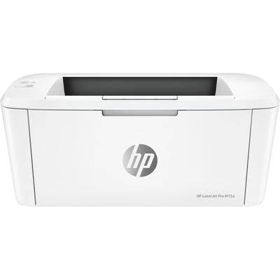 Hp laserprinter: LaserJet M15a - Zwart