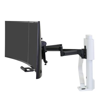 Ergotron TRACE™ Dual Monitor Mount (wit) Monitorarm