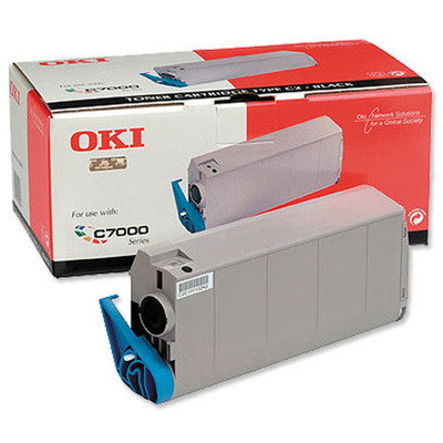 OKI cartridge: Black Toner Cartridge C7100/C7300/C7500
