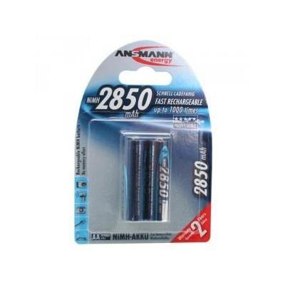 Ansmann 2850 mAh batterij - Zilver