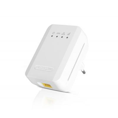 Sitecom netwerk verlenger: WLX-1000 N300 Wi-Fi Range Extender - Wit