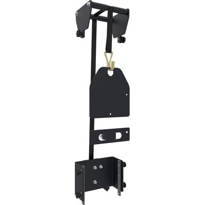 SmartMetals Takelsysteem voor volledig deelbaar statief TV standaard - Zwart