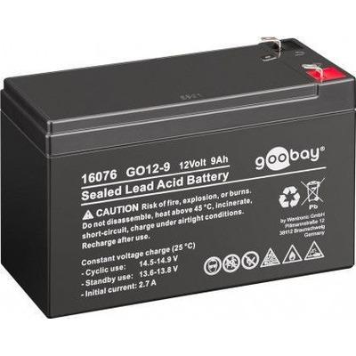 CoreParts MBXLDAD-BA019 UPS batterij - Zwart