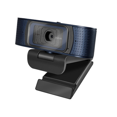 LogiLink Full HD, 30 fps, f/2.1, 80°, USB, 1.6 m, 98 x 62 x 49 mm, 150 g Webcam - Zwart