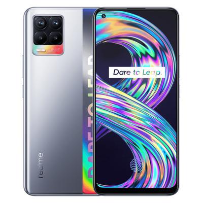 Realme 8 Smartphone - Zilver 64GB