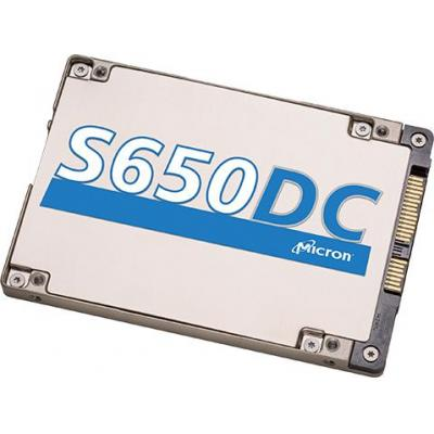 Micron S650DC SSD - Aluminium