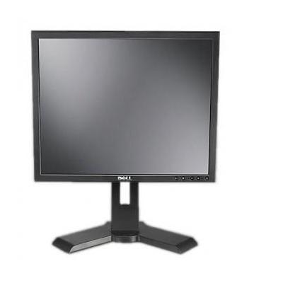 DELL monitor: P190S - 5:4, 5ms, DVI-D, VGA, 800:1, 1280 x 1024, Black - Zwart (Refurbished LG)