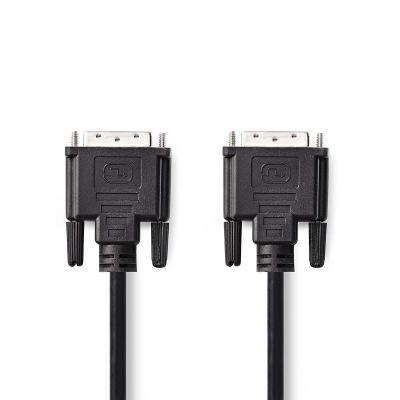 Nedis CCGP32000BK50 DVI kabel  - Zwart