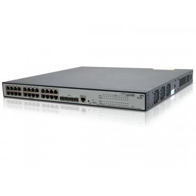 Hewlett Packard Enterprise V 1910-24G-PoE (365W) Switch - Zwart - Refurbished B-Grade