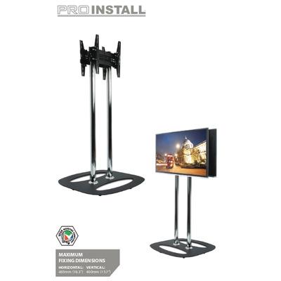 B-Tech BT8552-200 TV standaard - Zwart