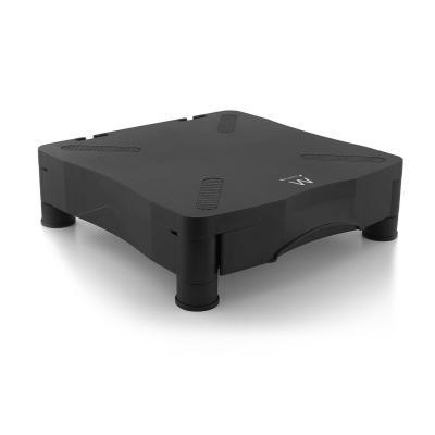 Ewent monitorarm: Monitor Standaard met handige opberglade - Zwart