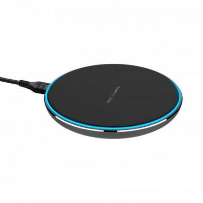 Xqisit Wireless Fast Charger 10W (black) Oplader - Zwart
