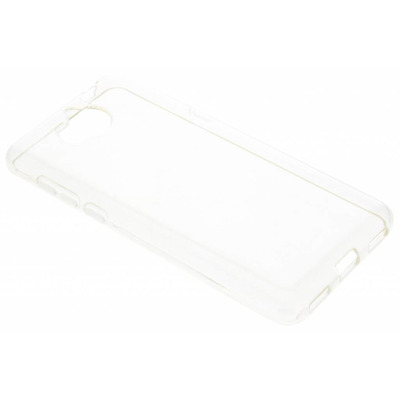 Clear Backcover Huawei Y6 (2017) - Transparant / Transparent Mobile phone case