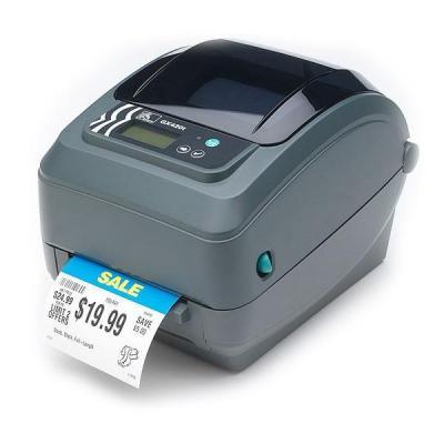 Zebra labelprinter: GX420t - Grijs
